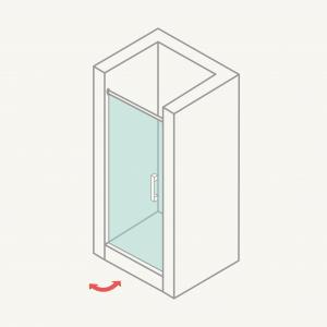 Mamparadeduchafrontal:puertasabatibles